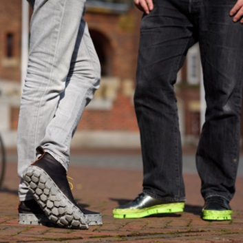Picture of two men weaing Solemaker Shoes